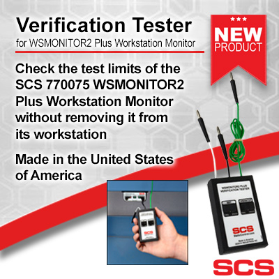 770076 Verification Tester for WSMONITOR2 Plus Workstation Monitors