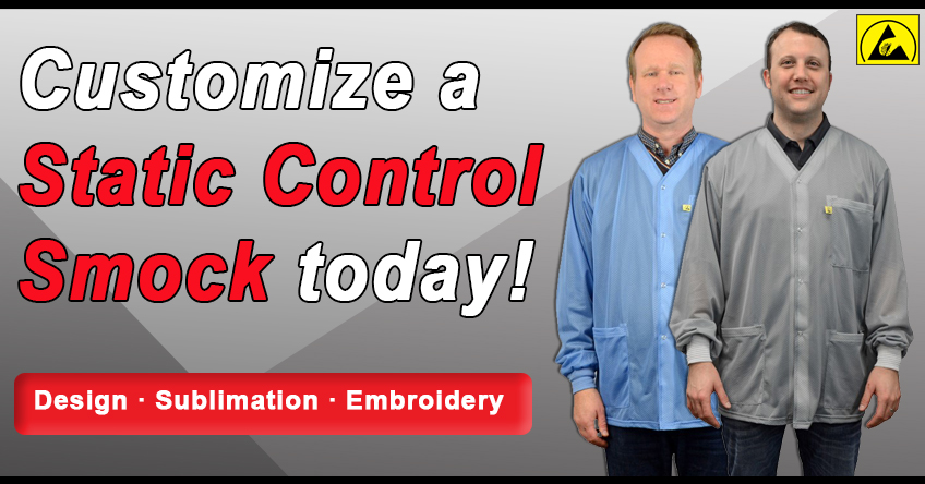 Customize a Static Control Smock Today