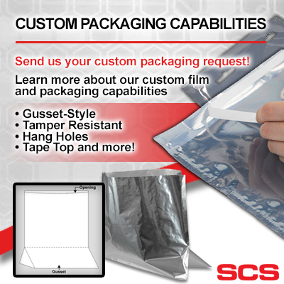 SCS Custom Packaging Capabilities - Learn more about our custom film and packaging capabilities
