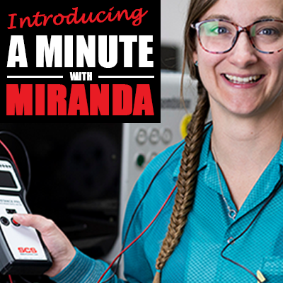 A Minute with Miranda