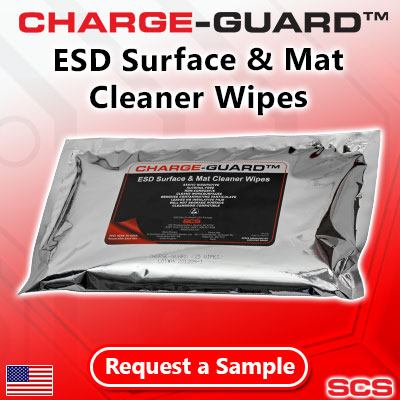 8004 Charge-Guard™ Wipes